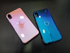Ốp hình trái tim iPhone X